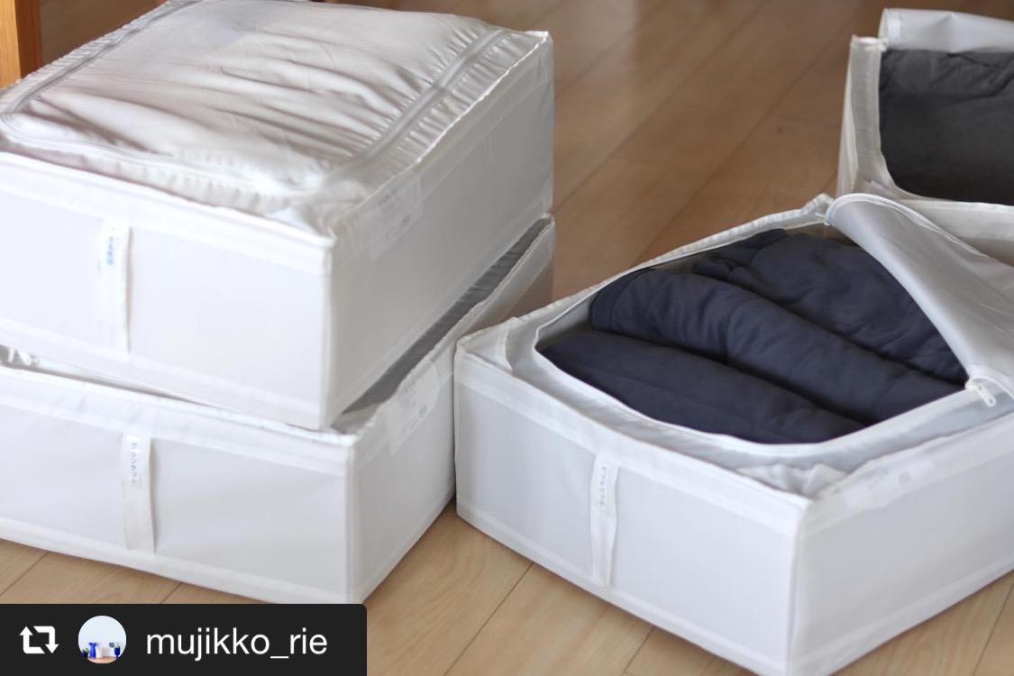 収納テクニックを駆使した布団の衣替え 画像1