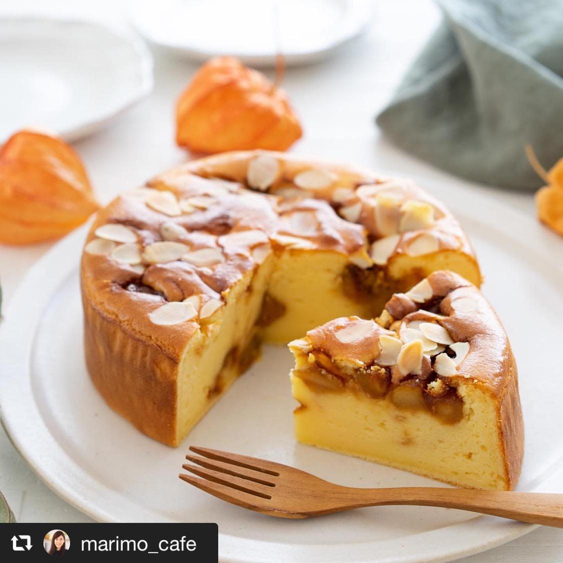 キャラメルりんごチーズケーキ 画像1